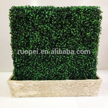 Decorative Artificial Grass Wall/Fence With Factory Price