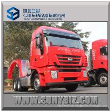 390HP Prime Mover Iveco Hongyan 6X4 Traktor Kopf LKW