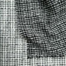 Boucle fashion plaid design fabrics