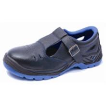 Ufb020 ampla biqueira de aço sem sapatos de segurança de segurança de tamancos de renda