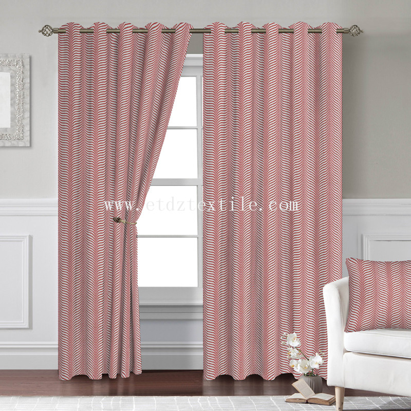 window curtain 2016 WZQ275 RED