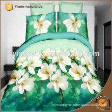 Uzbekistan flower printed bedding set