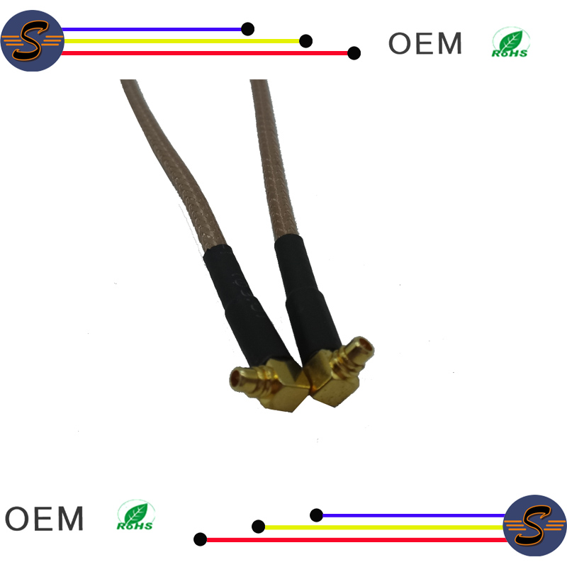 Right angle MMCX cable