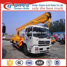 new condition Dongfeng Kingrun 22m telescopic work platform for sale