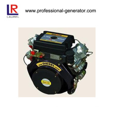 12kw Air Cold Diesel Engine, V-Twin, 4-Stroke, Air-Cooled Engine