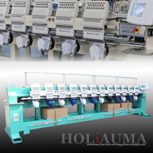 Precio directo de fábrica de máquina de bordado Industrial de Holiauma 6 de venta caliente 2016 cabeza