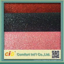 Glitter PVC Leather Upholstery Fabric