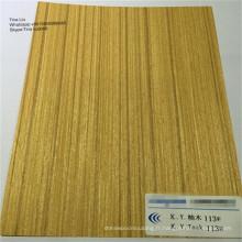 feuilles de placage de bois placage de meubles face