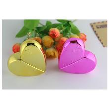 Botellas de vidrio de forma de corazón para el perfume