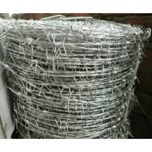 Drawing barb wire