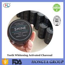 Carbón de leña activado Polvo de dientes Limpieza Carbón de leña Polvo Blanqueamiento dental