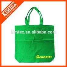 Promoción personalizada impresa compras bolsa de lienzo