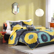 Mi Zone Alice Bedding Comforter Floral Printed Quilt Bedspread Set