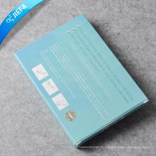 Boîte de papier de produit imprimé sur mesure