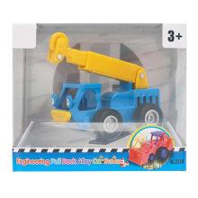 Boy Gift Veículo Plástico Carro Brinquedos Gruas Engenharia Caminhão
