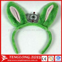 Hairband grande del oído de la felpa del OEM para las muchachas