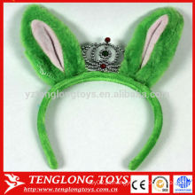 Hairband de orelha de pelúcia OEM grande para meninas