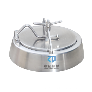 Oval  Manway Stainless Steel inward oppening  easy operated tank used  bell-shaped Manhole