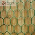 Grillage hexagonal enduit de PVC galvanisé à chaud