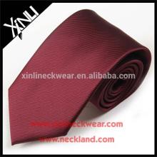 Tie Dropship nudo perfecto corbata tejida de poliéster Dropshipping