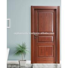 WPC Rahmen und Jamb Pvc beschichtete geformte wasserdichte Innen-Tür