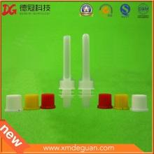 Profesional de 8,6 mm de plástico largo caño y tapa fabricante