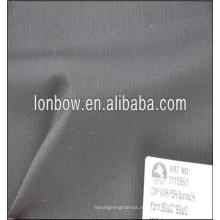 dunkelgrauer sehr kleiner karierter Woll- und Polyester-Mischgewebe für formellen Anzug Gewicht 260g / m