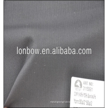 dark grey very small check wool and polyester blend plain fabric for formal suit weight 260g/m