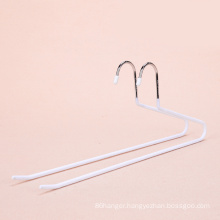 Factory Wholesale multilayer trousers hanger PVC Coated Wire Metal Hangers