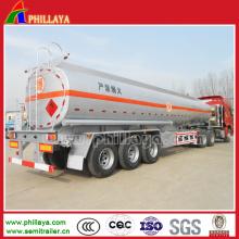 Drei Achsen 40000 Liter Stahl Tank Semi Trailer Wassertanker