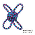 Hot-Sale New Rubber Dog Chew Toy Cotton Dog Rope Toy Set