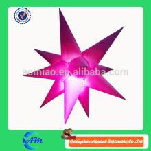 Iluminação inflável de produtos de iluminação estrela iluminação de iluminação LED inflável personalizado