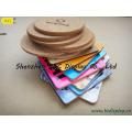 Coasters Cork-backed resistentes ao calor impermeáveis, Coasters da cortiça (B & C-G072)