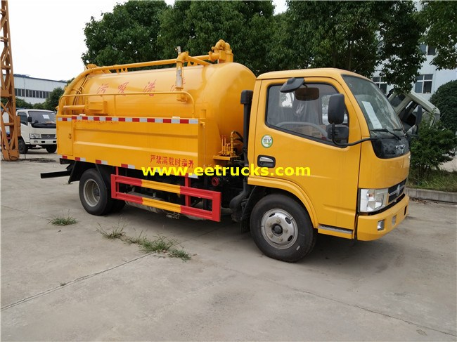 2500L Sewer Cleaning Trucks
