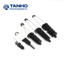 High Strength Fiber overhead wire  Cable Suspension Clamp ADSS Anchor Clamp