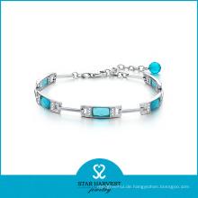 2016 neu entworfene Mode Silber Whosale Edelstein Armband