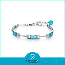 2016 New Designed Fashion Silver Whosale Gemstone Bracelet