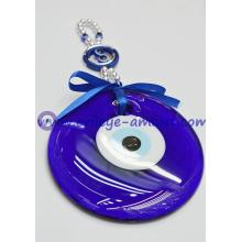 Large Blue Evil Eye Protection Hanging Ornament