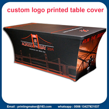 Logo imprimé 6ft couverture de table extensible