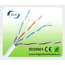 De la fábrica el mejor precio cable del lan de Cat5e indoor / outdoor / UTP / FTP