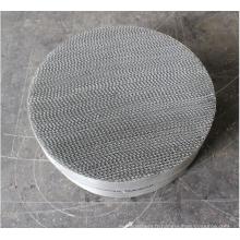 Emballage structuré de gaze de fil métallique