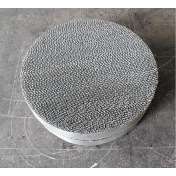 Embalaje estructurado de gasa de alambre metálico