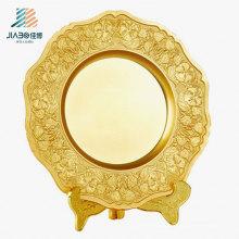 Топ продать 23см изготовленный на заказ Логос память бляшек металлическая Сувенирная тарелка