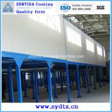 Máquina de recubrimiento en polvo / Línea de pintura (sistema de secado por humedad y sistema de curado en polvo)
