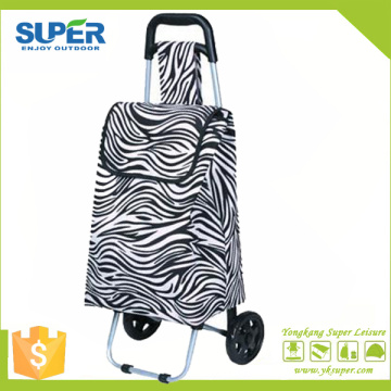 Foldable Shopping Hand Cart Supermarket Shopping Cart (SP-527)