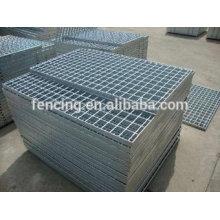 râpage galvanisé de béton d'acier inoxydable