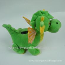Dinosaurio de felpa caja de dinero caja de dinero