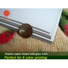 Duplex Board with Grey Back Paper