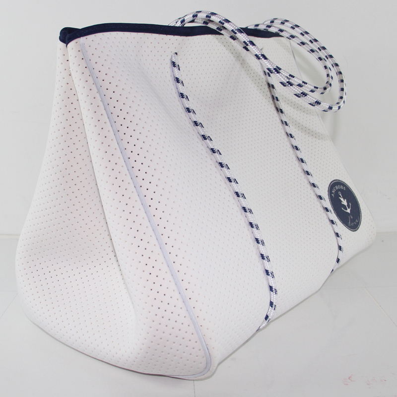 Perforated beach bags