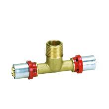 """КТМ """"че"""" типа Мужской Тройник (пресс-фитинг) (Hz8507) для пластиковых труб и алюминиевых пластиковые трубы"""